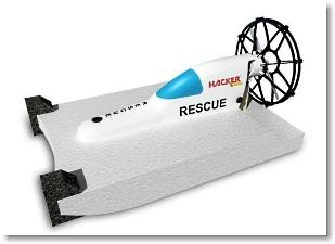 Hacker Rescue Boot incl. Brushless Motor